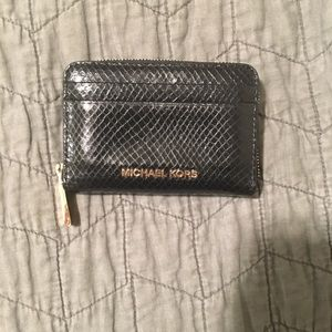 Mini michael kors zip wallet